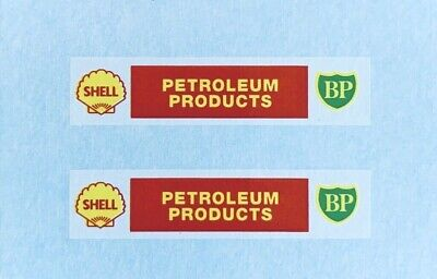 Dinky-Spares | Dinky 070 Dublo AEC Mercury Tanker | SHELL BP | Waterslide Decal