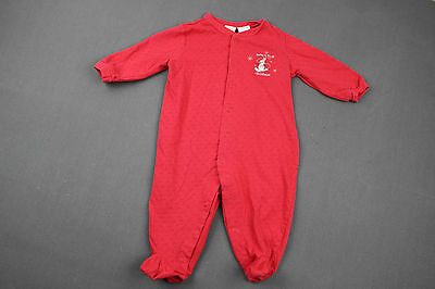 VINTAGE Baby HOLIDAY Sleeper 9 months CIRCO Baby's First Christmas Snowman