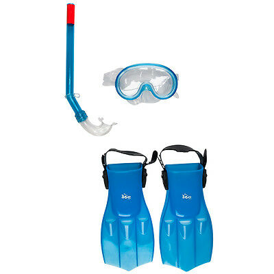 New 360 Splasher Scuba Start Set Kids Snorkelling Mask Snorkel Flipper Fins