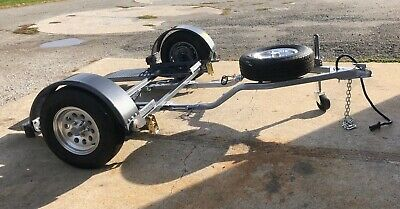 CAR/TOW DOLLY A Frame Tongue TD40 Wide Track with Electric