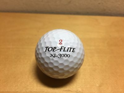 Used - 1x Golf Ball - TOP FLITE XL 3000 - Bola de Golf - ARABELLA Golf Club