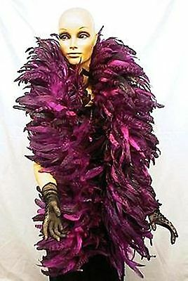 Coque Feather Boa - Fuschia/Hot Pink  Outstanding Show Biz Quality