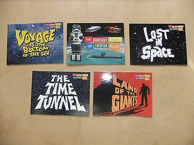 The Fantasy Worlds Of Irwin Allen 100 Card Set Lost In Space Time Tunnel