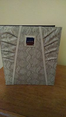 New WT 2 Miche Snake Leather Binders Photo Album Crafts Memory BUY 1 GET 1 FREE!