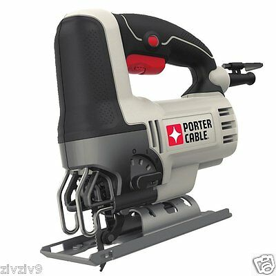 PORTER-CABLE Orbital Jig Saw 7 Position Speed 6 Amp Motor Tool for More Power