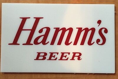 Hamm's Starry Night Logo Plate Replacement - Fits Large and Small Sign