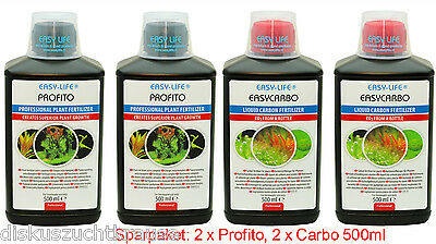 EASY LIFE 4 er Set ,2 x Pro Fito & 2 x Easy Carbo á 500ml NEU & OVP Sparpaket
