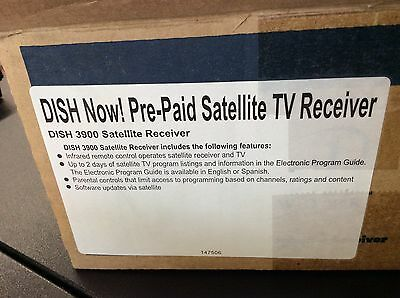 DISH NETWORK 3900 receiver with remote
