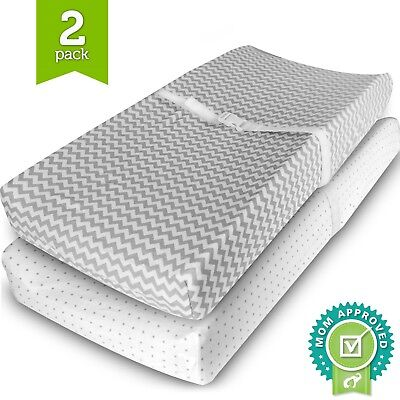 Ziggy Baby Changing Pad Cover Cradle Bassinet Sheets Fitted Jersey Cotton... NEW