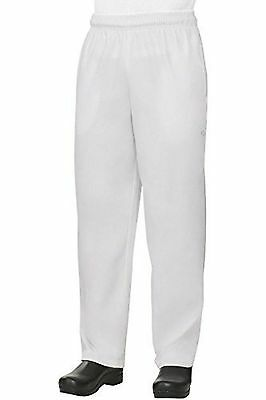 Baggy White Chef Pants size Large NEW