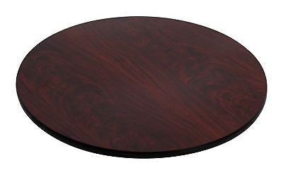 Flash Furniture 30'' Round Table Top with Black or Mahogany Reversible Lamina...