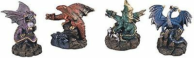 StealStreet Dragon Collection Set of Four Dragons Fantasy Collectible NEW