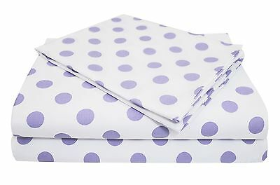 American Baby Company 100% Cotton Percale Toddler Bedding Sheet Set White... NEW