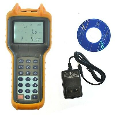RY-S110 CATV Cable TV Handle Digital Signal Level Meter DB Tester 47-870MHz A...