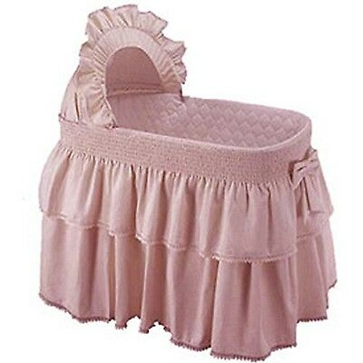 Baby Doll Bedding Paradise Rainbow Bassinet Bedding for girly Pink NEW