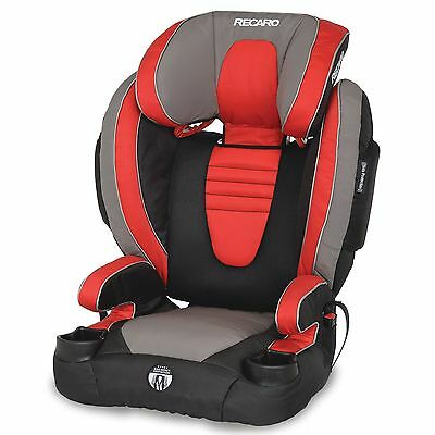 RECARO Performance BOOSTER High Back Booster Car Seat Redd Red NEW