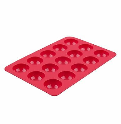 NEW SMALL SILICONE DOME DESSERT MOULD 15 CUP Cookie Mat Cake Pop Tray Bake