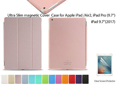 "Ultra Slim Smart Cover Case For iPad Air Air 2 Pro (9.7"")  NEW iPad 9.7""(2017)"