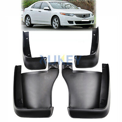 Fit For 2008~2014 Honda Accord Euro Mud Flaps Splash Guards 2009 2010 2011 2012