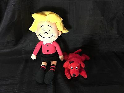 "Kohls Cares EMILY ELIZABETH 16"" Plush Clifford the Big Red Dog"