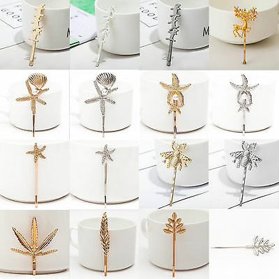 Wholesale Women's Metal Crystal Rhinestone Bobby Hair Pin Barrette Clip Hairpin