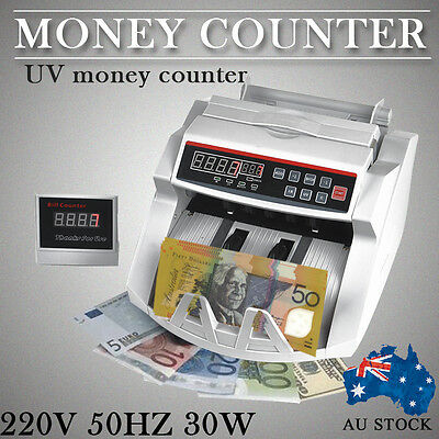 Australian Bill Note Counter Automatic Money Cash Counting Machine Banknote