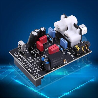 Pratical Audio Sound Card Module I2S Interface for Raspberry Pi B 2 HIFI DAC AU