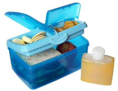 Sistema Lunchbox+Trinkflasche Brotdose Vesperdose Lunch-Box Brotbox Frischebox
