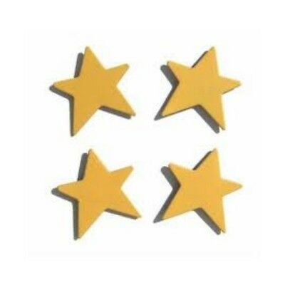 Demdaco Embellish Your Story 13962 yellow Star Magnets Set 4