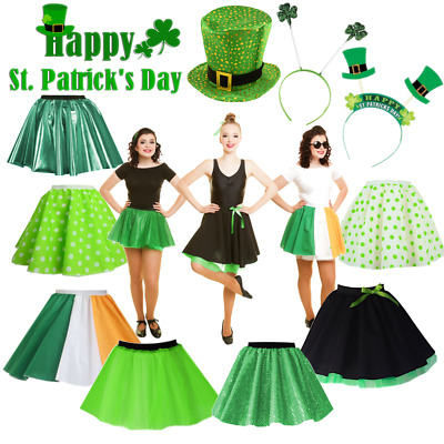St Patricks Day Costume Ireland Costume Irish Dublin Hen Do Costume ADULT