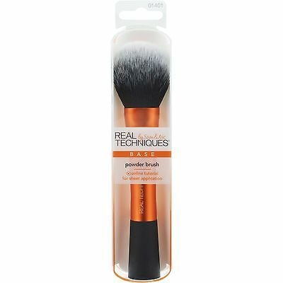 New Original Real Techniques Cosmetic Makeup Brushes Dusting Powder Brush UK