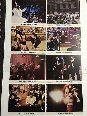 THE BLUES BROTHERS Rare Original US LOBBY CARD SET MINT 8x10 Carrie Fisher