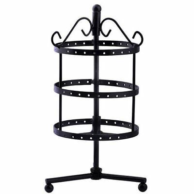 Black Jewelry Holder Organizer Bracelet Necklace Earrings Stand Hanging Display