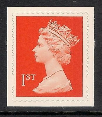 GB QEII SG 2040 1st Class Stamp S/A NVI Machin Definitive. Elliptical EX BOOKLET