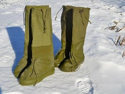 Tactical Winter Boots/Warm Foot Bags. Survival Boots Gear. Extreme Temperatures