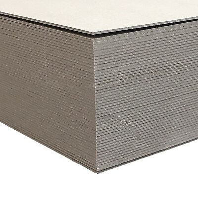 New Boxboard A4 700gsm 100 Sheets - Chipboard Backing Board Cardboard Recycled