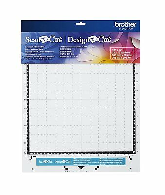 "Brother Scan N Cut or Design N Cut New STANDARD MAT 12x12"" Adhesive Mat for S..."