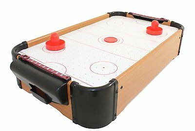 Wooden Mini Table Hockey Games Kids Desktop Play Toy Gift Indoor Fun Present