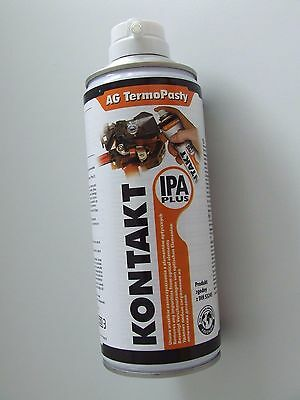 Kontakt IPA Plus Spray 400ml Isopropanol Entfetter Elektronik Reiniger m. Bürste