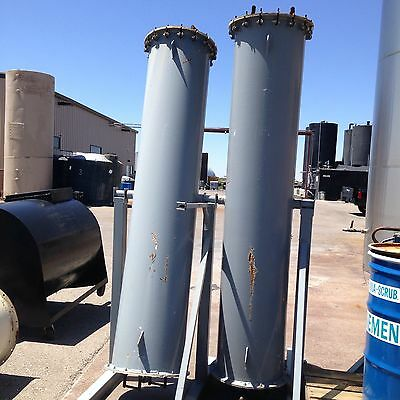Resin Towers For Biodiesel (or packed column) Custom Fabrication