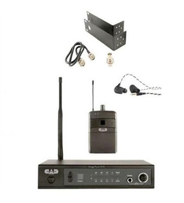 New CAD Audio StageSelect IEM UHF In Ear Monitor Wrlss Systm