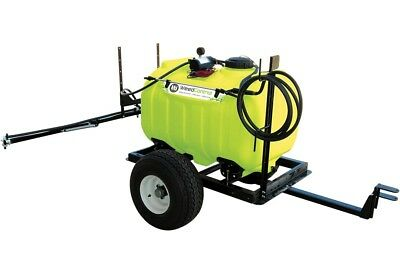 150L 12V ATV spot garden weed sprayer spray tank trailer 3M boom DELAVAN pump