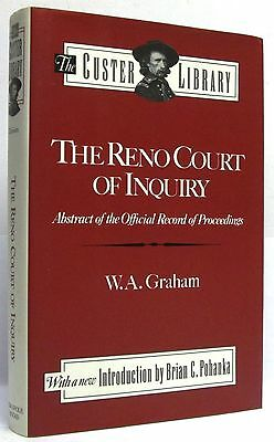 The Reno Court Of Inquiry Abstract Of The Official Record Of Proceedings