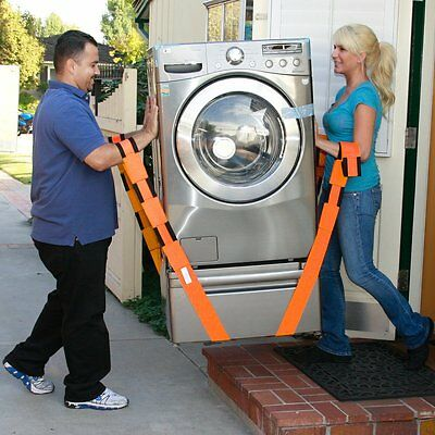 Forearm Forklift Lifting and Moving Straps, to easily carry furniture, appliance