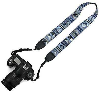 Elvam Camera Neck Shoulder Belt Strap for DSLR / SLR / Nikon / Canon / Sony NEW