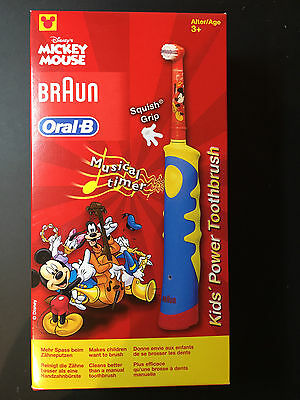 Oral-B Kids Power elektrische Zahnbürste Mickey Mouse
