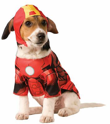 Iron Man Super Hero Dog Pet Costume –4 Sizes to Choose