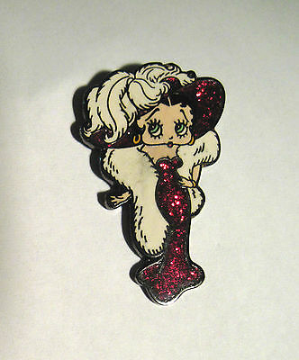 BETTY BOOP  Mae West pose - hat pin, lapel pin, hatpin