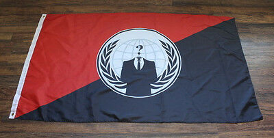 Anonymous Flag Occupy Anti Government Protest Anon Expect Us Anarchy Anarchist