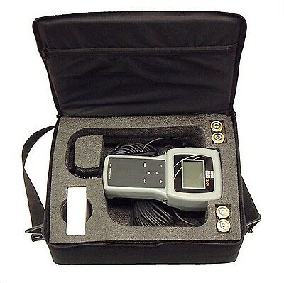 YSI 550A Handheld Portable Dissolved Oxygen Meter Kit with 100' Cable Probe Case